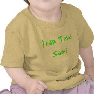 A equipe Jesus salvar Tshirt
