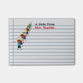 A escola bonito caçoa post-it personalizados post-it notes