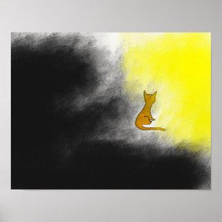A escolha do gato poster