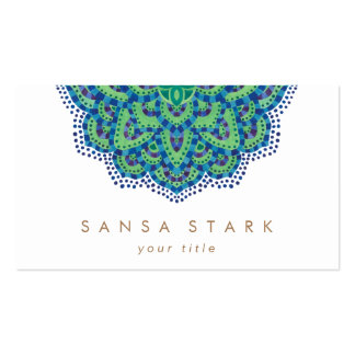 A esmeralda Mandala-Legal Cartão De Visita