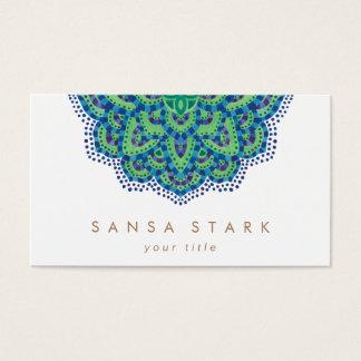 A esmeralda Mandala-Legal Cartão De Visitas