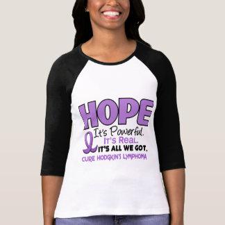 A ESPERANÇA 1 de Hodgkin do linfoma Tshirts