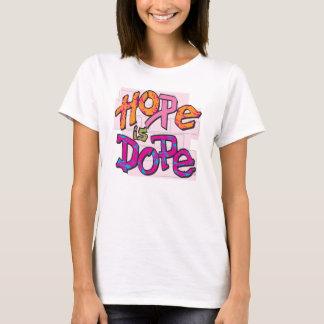 A esperança é narcótico camiseta