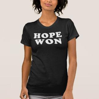 A esperança ganhou a camisa da vitória T de Obama