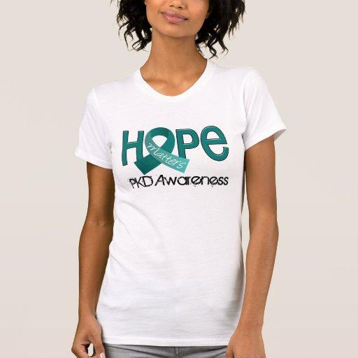 A esperança importa 2 PKD T-shirts