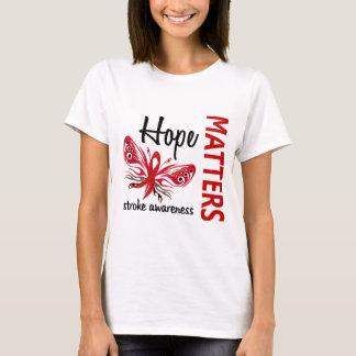 A esperança importa curso de borboleta camiseta