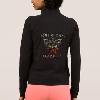 A esperança reforça a jaqueta