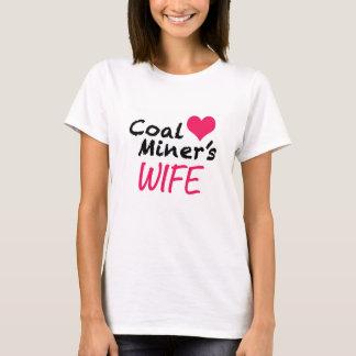 A esposa de mineiro de carvão camiseta