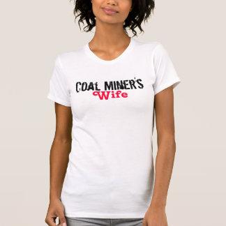 A esposa de mineiro de carvão t-shirts