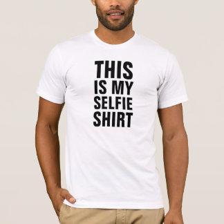 A esta dos homens é minha camisa de Selfie