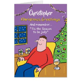 A estação a ser cartão de Natal agradavelmente