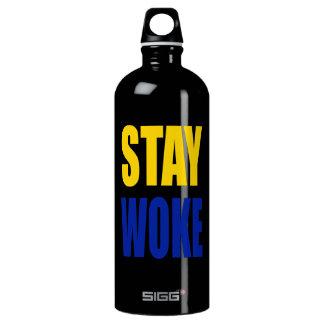 A estada acordou a garrafa de água de Sigg - preto