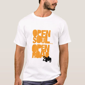 A estrada aberta aberta '09 da alma… visita o tshirts