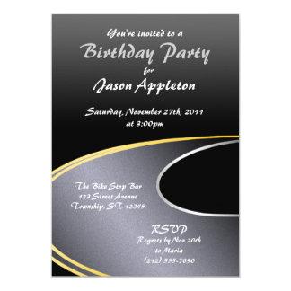 A estrada aberta - convites de festas de