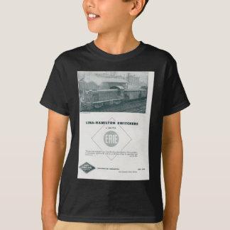 A estrada de ferro de Erie usa diesel de Lima - de Tshirts