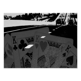 A estrada dos jogadores poster