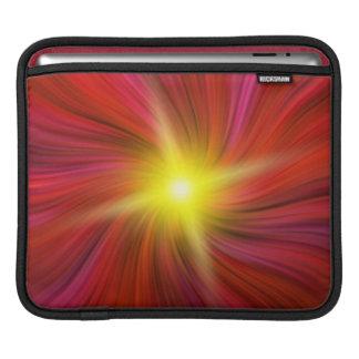 A estrela estourou na luva de roda vermelha do iPa Bolsas De iPad
