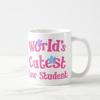 A estudante de Direito a mais bonito dos mundos Caneca De Café