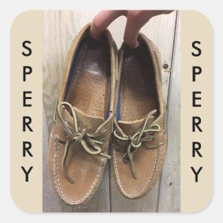 A etiqueta arborizado de Sperry