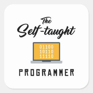 A etiqueta Auto-ensinada do programador