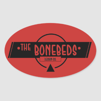 A etiqueta de BoneBeds (oval)