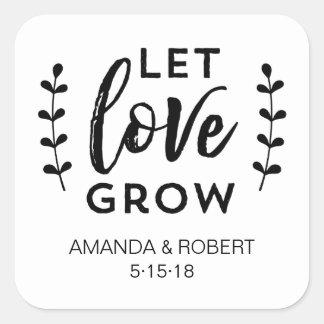 A etiqueta | do favor do casamento deixou o amor