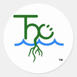 A etiqueta feliz do logotipo de Cultivator™ THC Adesivo