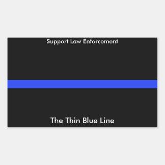 A etiqueta fina do costume de Blue Line