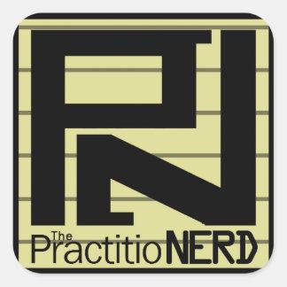 "A etiqueta ""original"" de PractitioNERD (3"" x 3"")"