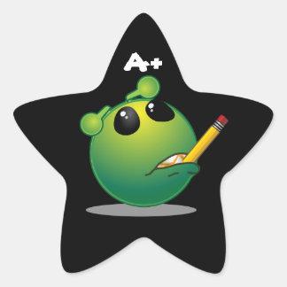 A+ Etiquetas estrangeiras da estrela