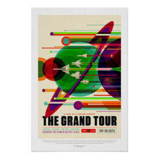 A excursão grande, poster de viagens