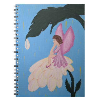 A fada deseja o caderno espiral