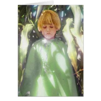 A fada do milho cartão comemorativo