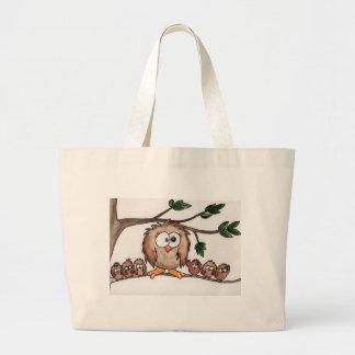 A família da coruja bolsa para compra