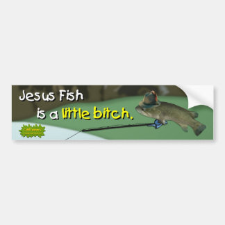 A família de peixes do desejo - autocolante no vid adesivo para carro