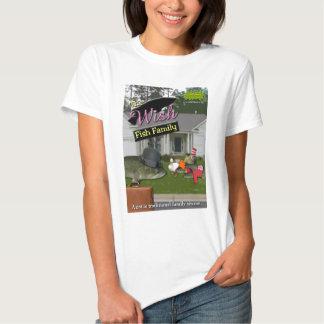 A família de peixes do desejo t-shirts