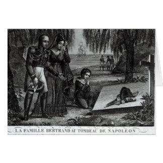 A família do general Henri-Gratien Bertrand Cartão Comemorativo