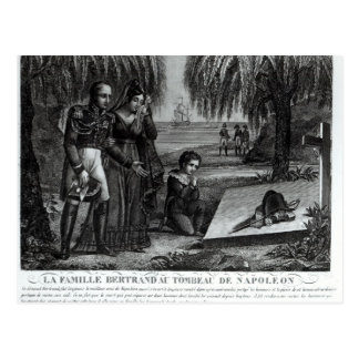 A família do general Henri-Gratien Bertrand Cartão Postal