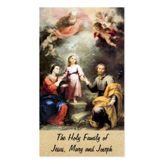 A família santamente de Jesus, de Mary e de Joseph Cartão De Visita