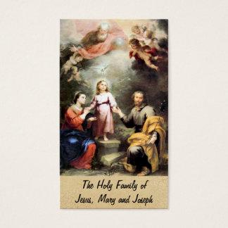 A família santamente de Jesus, de Mary e de Joseph Cartão De Visitas