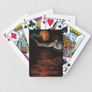"""A fantasia carda """"seu mundo """" baralho para poker"""