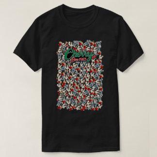 A fazenda da cereja dos homens Emote a camisa da