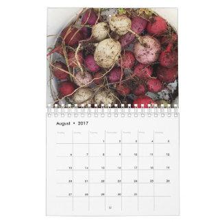 A fazenda deleita o calendário
