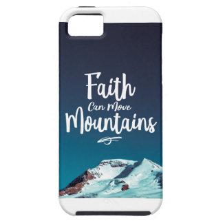 A fé pode mover a capa de telefone das montanhas