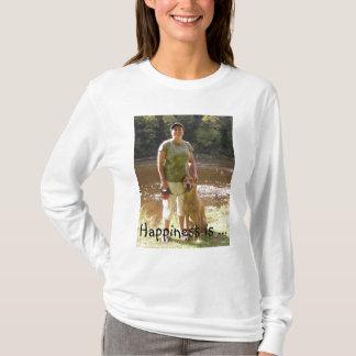 A felicidade é… camiseta