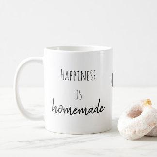 A felicidade é caneca caseiro