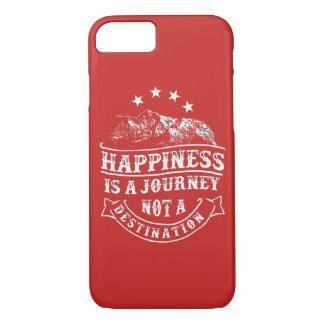 A felicidade é uma capa de telefone lustrosa da