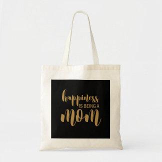 A felicidade está sendo um bolsa do dia das mães