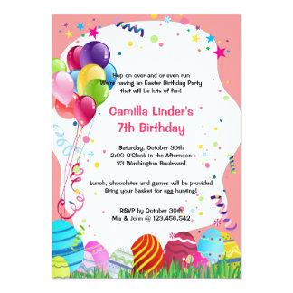 A festa de aniversário cor-de-rosa do Domingo de Convite