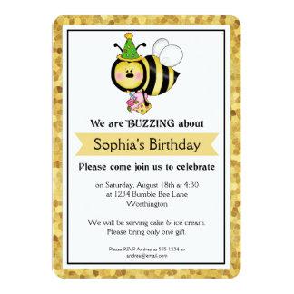 A festa de aniversário das crianças pouco Bumble a